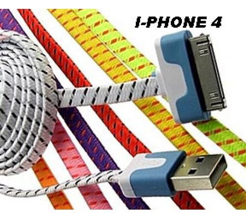 КАБЕЛЬ ДЛЯ IPHONE 4 /3M - фото 1