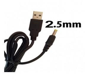 USB КАБЕЛЬ ДЛЯ ПЛАНШЕТА 2.5 ММ