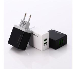 REDDAX RDX-029 ЗАРЯДНОЕ УСТРОЙСТВО 2.4A DUAL USB