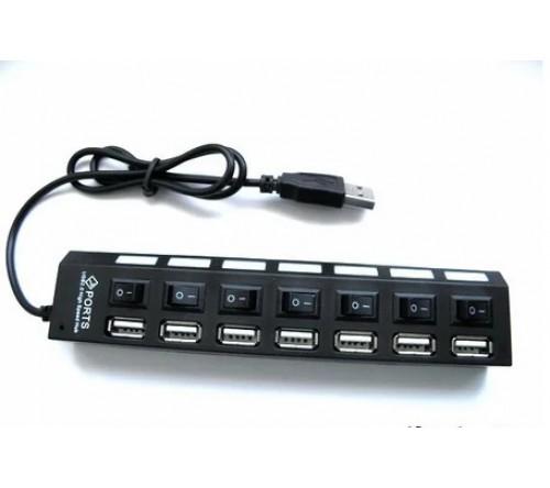 АДАПТЕР HU-701 USB HUP 7 PORT - фото 1