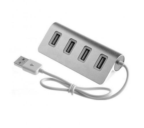 АДАПТЕР Aluminium 4 PORT USB HUB 4301 - фото 1